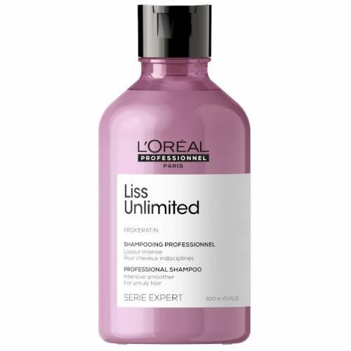 L'oreal Professionnel Liss Unlimited šampūnas nepaklusniems plaukams (300 ml)
