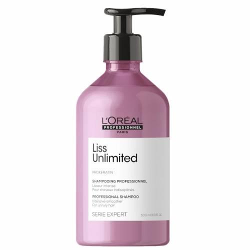 L'oreal Professionnel Liss Unlimited šampūnas nepaklusniems plaukams (500 ml)