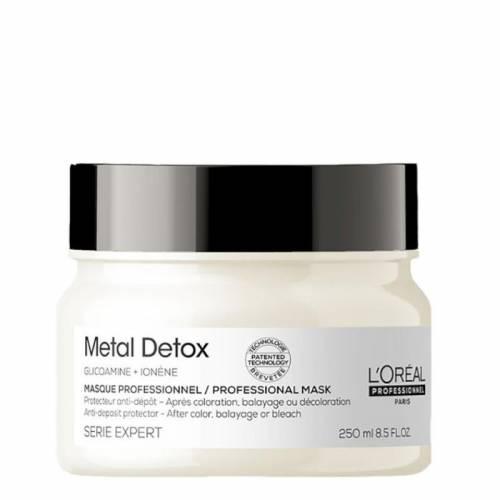 L'Oreal Professionnel Metal Detox apsauginė plaukų kaukė (250 ml)