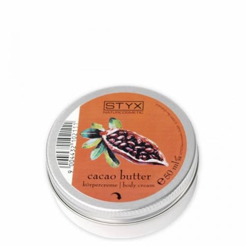 STYX AROMA DERM kūno kremas su kakavos sviestu (50 ml)