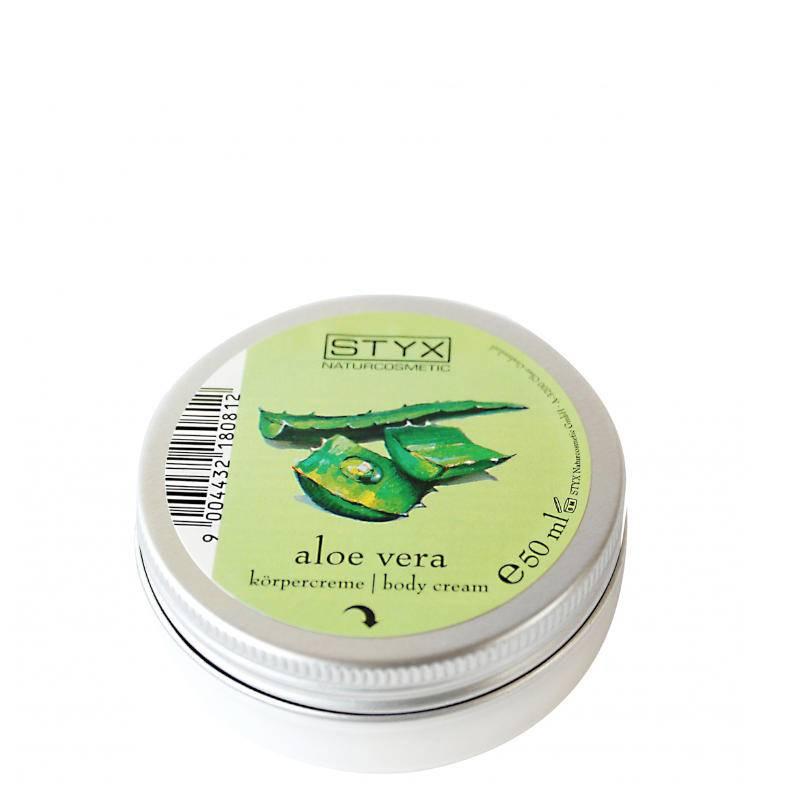 STYX NATURCOSMETIC kūno kremas su alavijais (50 ml)