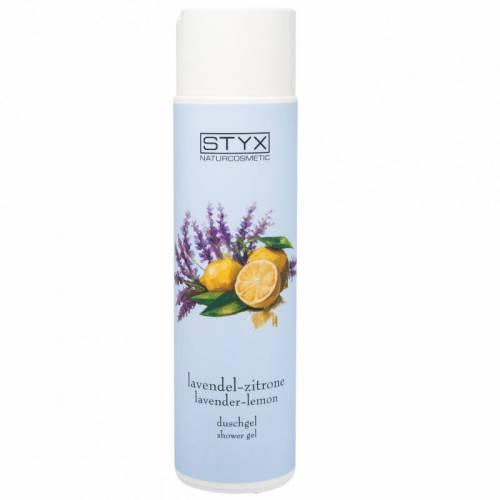 STYX NATURCOSMETIC dušo gelis su levandomis ir citrinomis (250 ml)