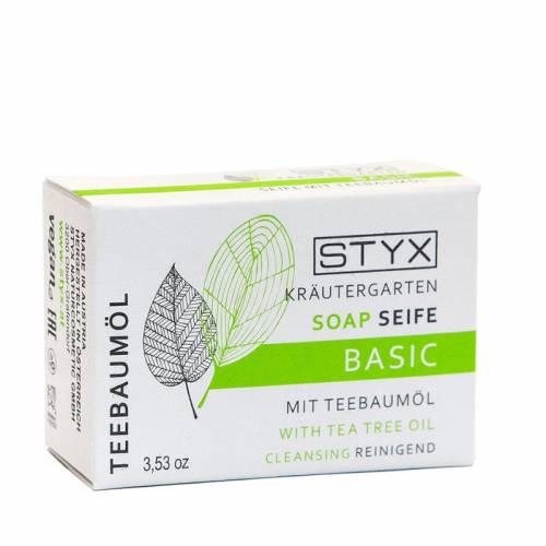 STYX KRÄUTERGARTEN kūno muilas su arbatmedžio aliejumi (100 g )