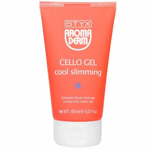 STYX AROMADERM Cello Gel Cool Slimming šaldantis anticeliulitinis gelis (150 ml)