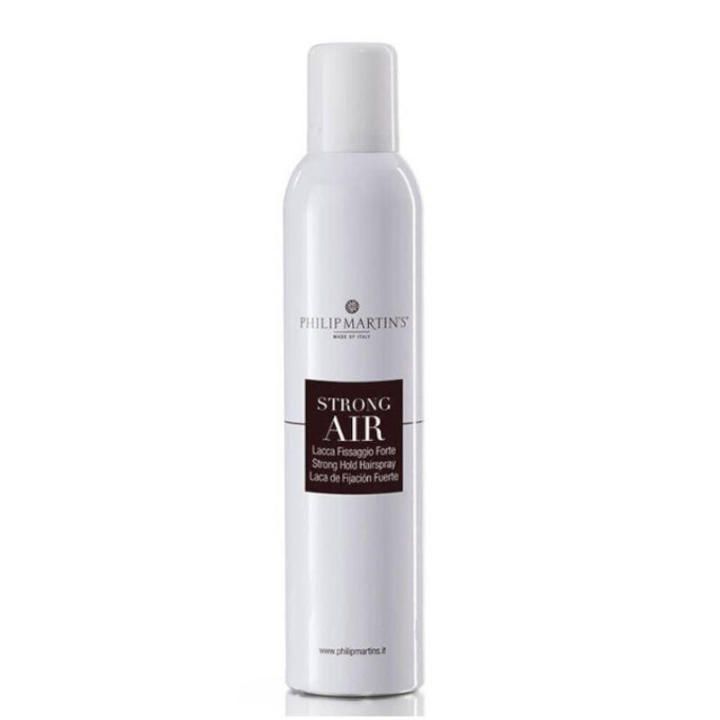 Philip Martin's Strong Air stiprios fiksacijos plaukų lakas (300 ml)
