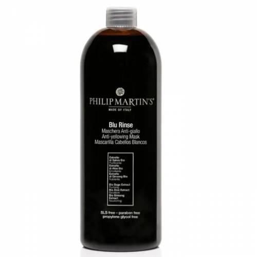Philip Martin's Blu Rinse geltonumą neutralizuojanti kaukė (1000 ml)