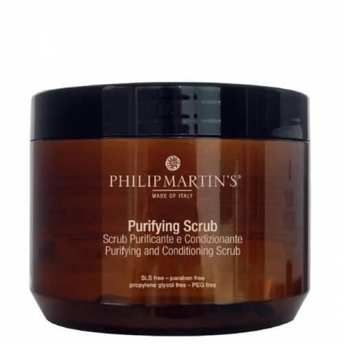 Philip Martin's Purifying Scrub galvos odos šveitiklis (500 ml)