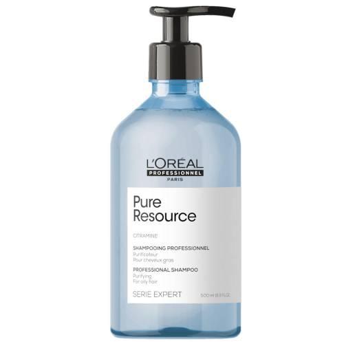 L'oreal Professionnel Pure Resource valomasis šampūnas riebiai galvos odai ir plaukams (500 ml)