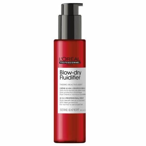 L'Oréal Professionnel Série Expert Blow-dry Fluidifier daugiafunkcinis plaukų formavimo kremas (150 ml)