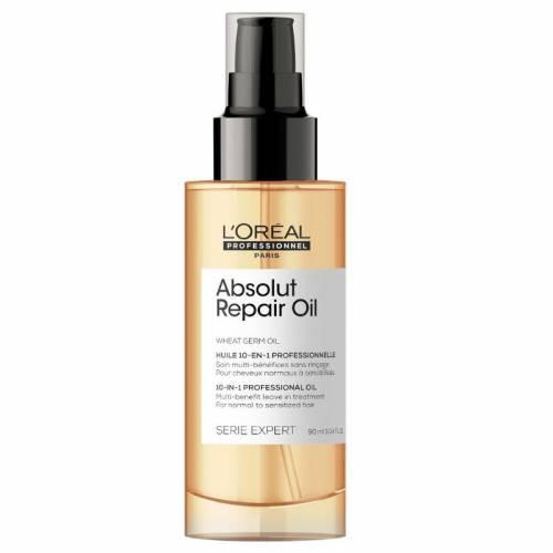 L'Oréal Professionnel Absolut Repair 10 in 1 apsauginis pažeistų plaukų aliejus (90 ml)
