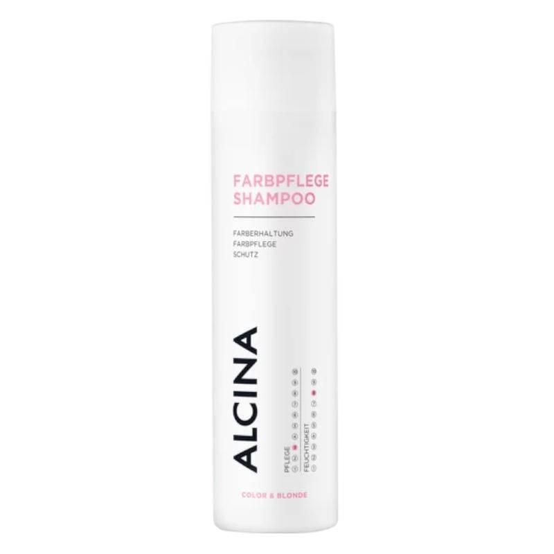 Alcina Farbpflege- Shampoo dažytų plaukų priežiūros šampūnas (250 ml)