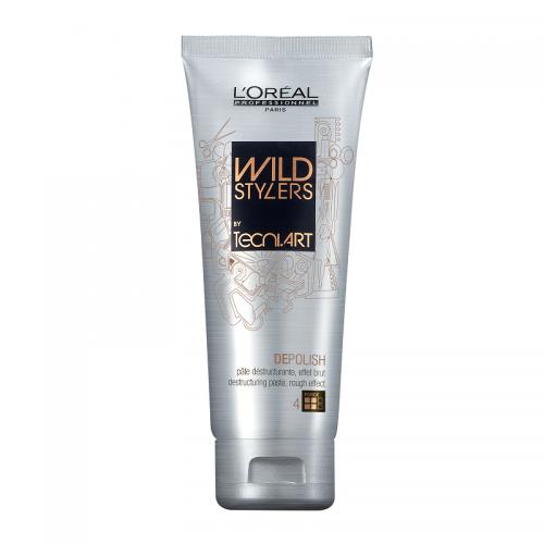 L'oreal Professionnel Depolish plaukų formavimo pasta  sukurianti matinį efektą (100 ml)