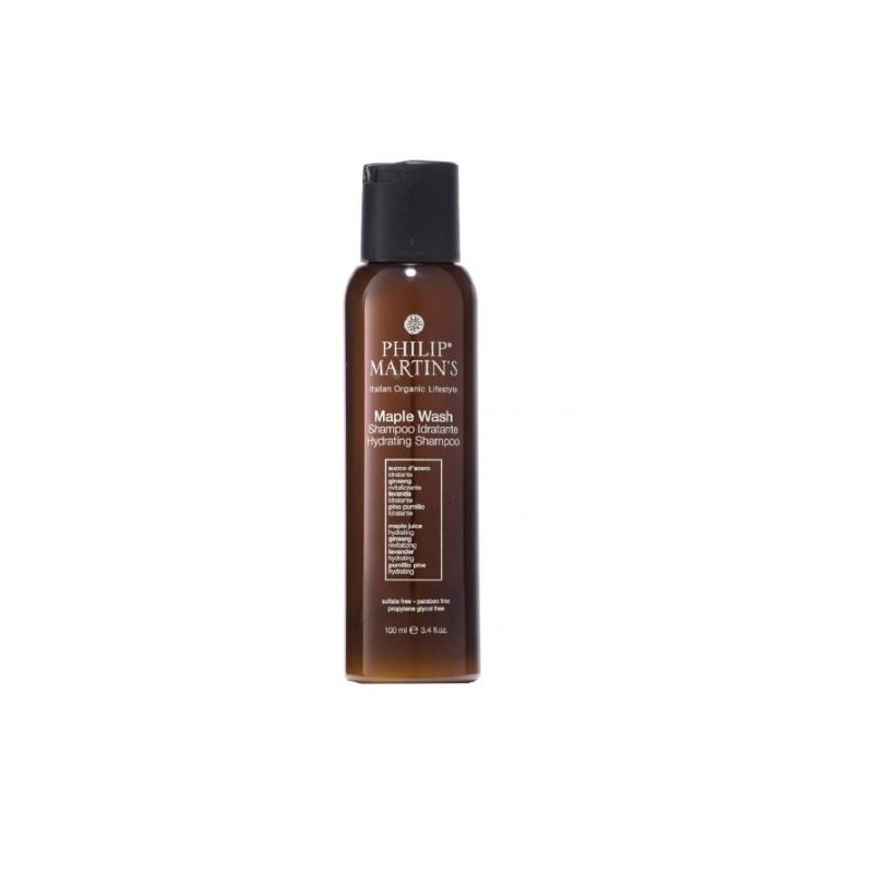 Philip Martin's Maple Wash drėkinamasis šampūnas (100 ml)