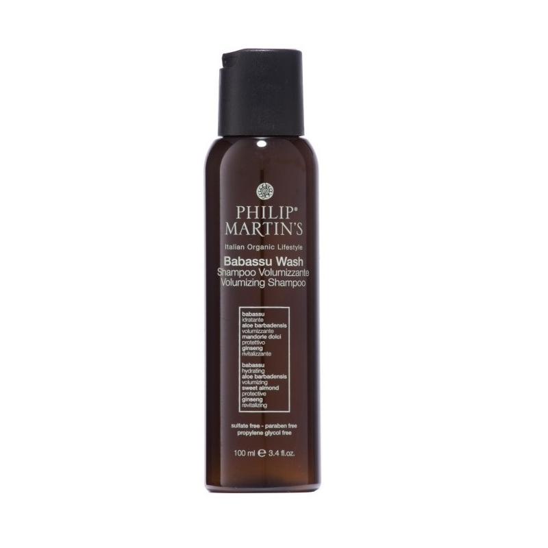 Philip Martin's Babassu Wash apimties suteikiantis šampūnas (100 ml)