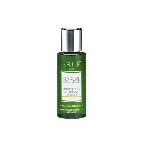 Keune So Pure Moisturizing drėkinamasis šampūnas (50 ml)