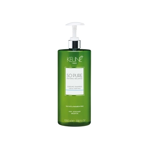 Keune So Pure Cooling šampūnas su vėsinančiu efektu (1000 ml)