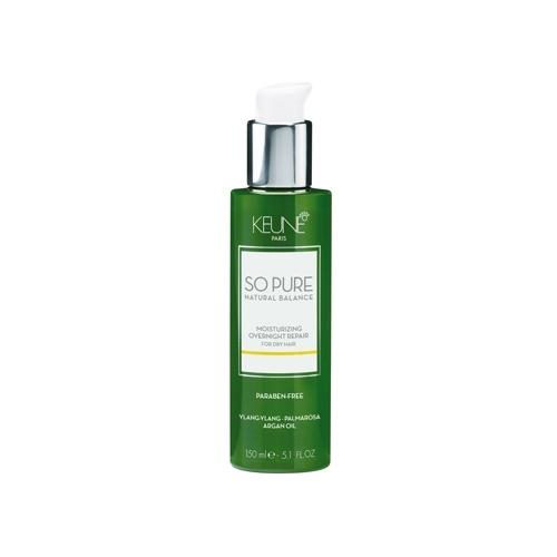 Keune So Pure Moisturizing drėkinamasis naktinio atkūrimo serumas plaukams (150 ml)