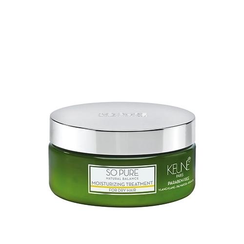 Keune So Pure Moisturizing drėkinamoji sausų/pažeistų plaukų kaukė (200 ml)