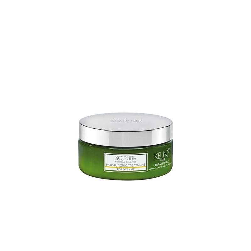 Keune So Pure Moisturizing sausų/pažeistų plaukų kaukė (200 ml)